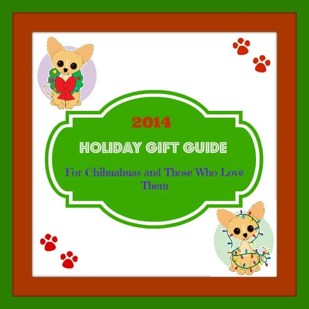 2014 Chihuahua holiday gift guide